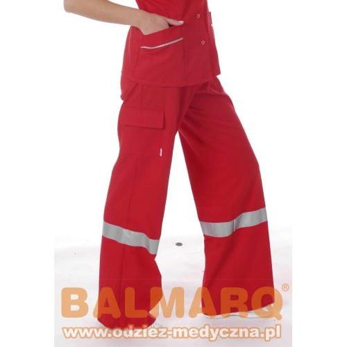 Spodnie damskie bojówki antybakteryjne